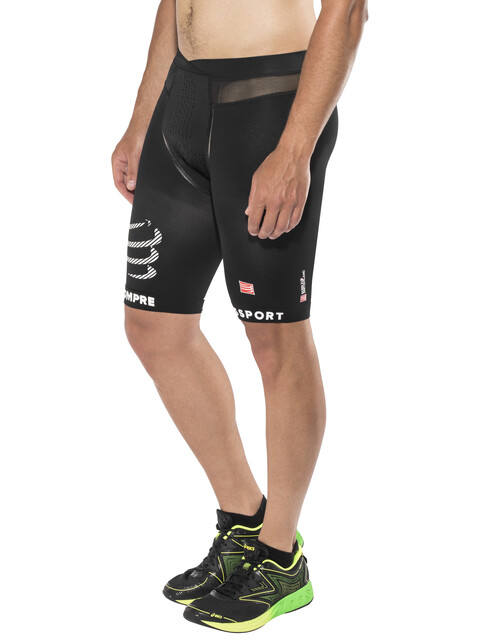Compressport Running Shorts Unisex Black
